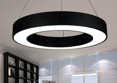 modern-office-led-circle-pendant-lights-round